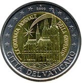 Vatican Commemorative Coin 2005 - World Youth Day Cologne