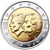 Belgian Commemorative Coin 2005
