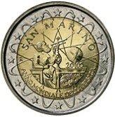 San Marino Commemorative Coin 2005 - Galileo Galilei