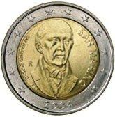 San Marino Commemorative Coin 2004 - Bartolomeo Borghesi