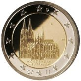 German Commemorative Coin 2011 - Nodrhein-Westfalen