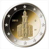 German Commemorative Coin 2015 - Hessen
