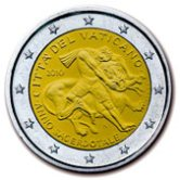 Vatican Commemorative Coin 2010 - Year of Priests