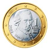 Austrian 1 Euro €  coin