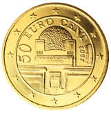 Austrian 50 cent coin