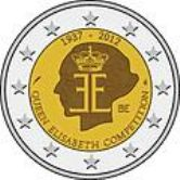Belgian Commemorative Coin 2012 - Queen Elizabeth Competition