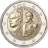 Luxembourg Commemorative Coin 2017