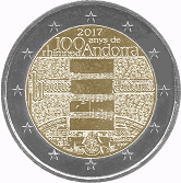 Andorran Commemorative Coin 2017 - National Anthem