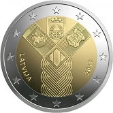 Latvian Commemorative Coin 2018 - 100 Years of Independence