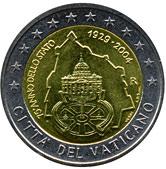 Vatican Commemorative Coin 2004 - 75 years founding of Vatican