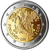 Finnish Commemorative Coin 2005