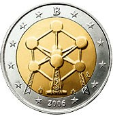 Belgian Commemorative Coin 2006 Atomium