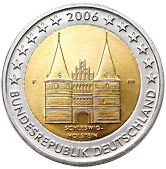 German Commemorative Coin 2006 - Schleswig-Holstein