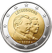 Luxembourg Commemorative Coin 2006 - Grand Duke Guillame