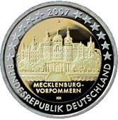 German Commemorative Coin 2007 - Mecklenburg-Vorpommern