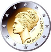 Monaco Commemorative Coin 2007 - Grace Kelley