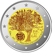Portuguese Commemorative Coin 2007 - Portugals Presidency of the EU