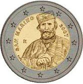 San Marino Commemorative Coin 2007 - Giuseppe Garibaldi