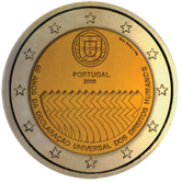 Portuguese Commemorative Coin 2008