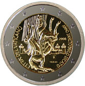 Vatican Commemorative Coin 2008 - Conversion of St. Paul