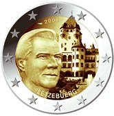Luxembourg Commemorative Coin 2008