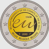 Belgian Commemorative Coin 2010