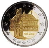 German Commemorative Coin 2010 - Bremen