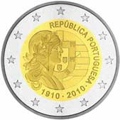 Portuguese Commemorative Coin 2010