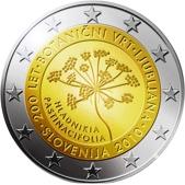 Slovenian Commemorative Coin 2010 - Botanical gardens in Lubljana