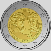 Belgian Commemorative Coin 2011 - International Womens Day
