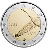 Finnish Commemorative Coin 2011 - bank of Finland
