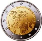 French Commemorative Coin 2011 - Fetze de la Musique