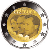 Luxembourg Commemorative Coin 2011