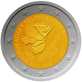 Slovakian Commemorative Coin 2011 - Visegard Accord