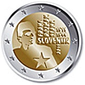 Slovenian Commemorative Coin 2011 - Franc Rozman