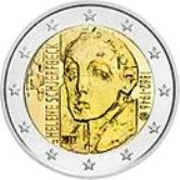 Finnish Commemorative Coin 2012 - Helene Schjerfbeck