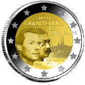 Luxembourg Commemorative Coin 2012 - William IV