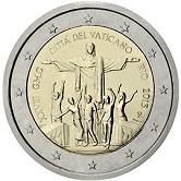 Vatican Commemorative Coin 2013 - World Youth Day Rio de Janeiro
