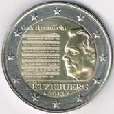 Luxembourg Commemorative Coin 2013 - National Anthem
