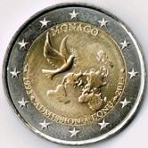 Monaco Commemorative Coin 2013