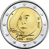 Finnish Commemorative Coin 2014 - Toves Janssons