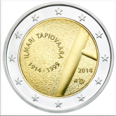 Finnish Commemorative Coin 2014 - Ilmari Tapiovaara