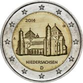 German Commemorative Coin 2014 - Niedersachsen