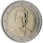 San Marino Commemorative Coin 2014 - Puccini