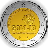 Belgian Commemorative Coin 2014