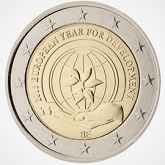 Belgian Commemorative Coin 2015 - European Year of Development