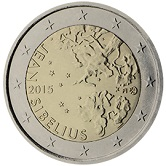 Finnish Commemorative Coin 2014 - Sibelius