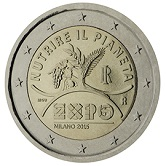 Italian Commemorative Coin 2015 - EXPO in Milan