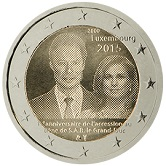 Luxembourg Commemorative Coin 2015