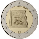 Maltese Commemorative Coin 2015 - Establishment of Republic